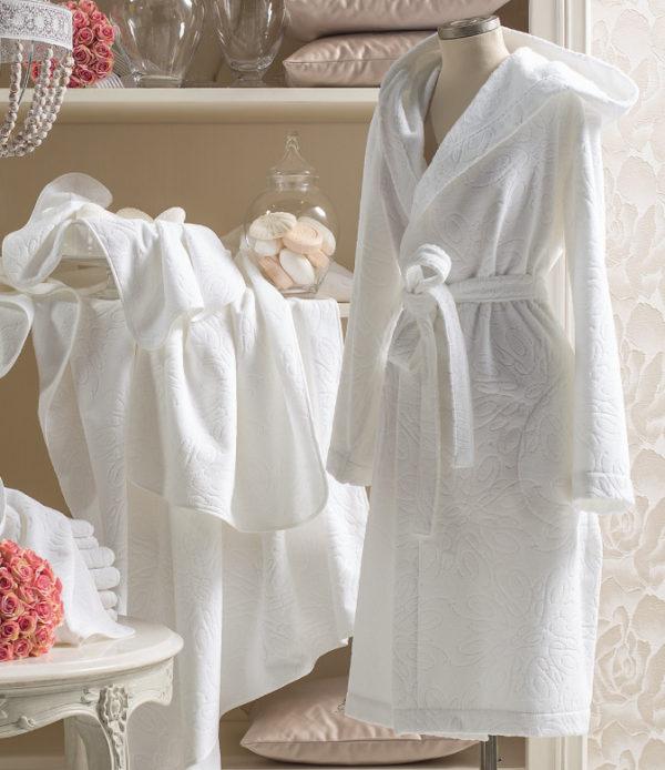 Махровый халат Bon Chic Blumarine