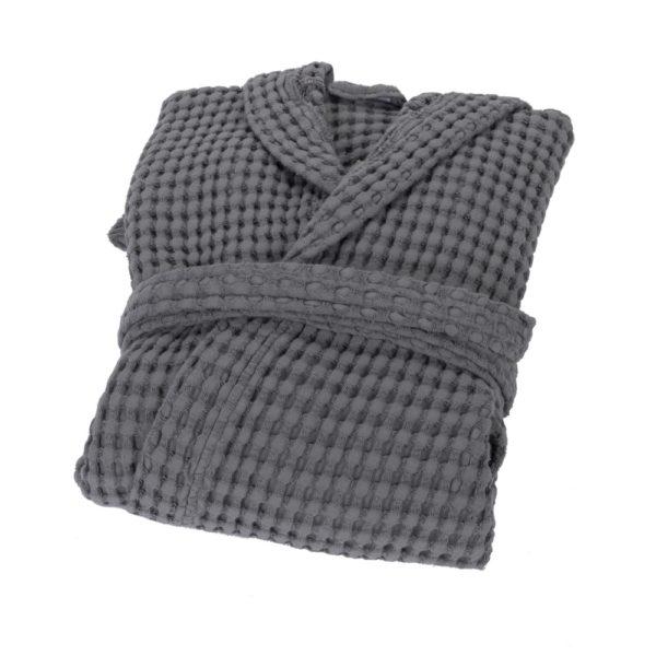 Вафельный халат Fazzini Nettare Gray