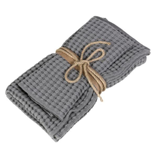 Набор полотенец Fazzini Nettare Grey