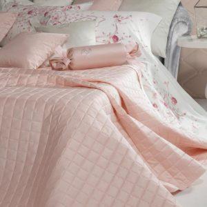 Покрывало полуторное Blumarine Lory розовое
