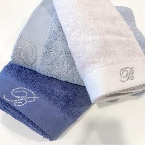 Набор полотенец Blumarine Benessere синий