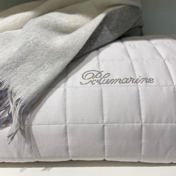 Покрывало двуспальное Blumarine Lory серый
