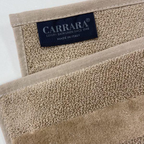 Полотенце маленькое Carrara Fyber Cappuccino 40x60