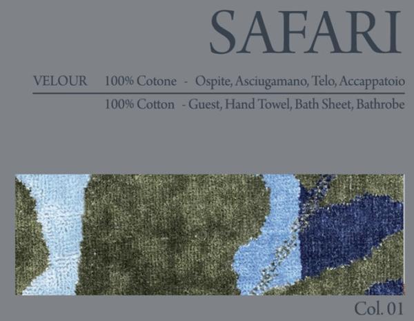 Махровый халат Carrara Safari