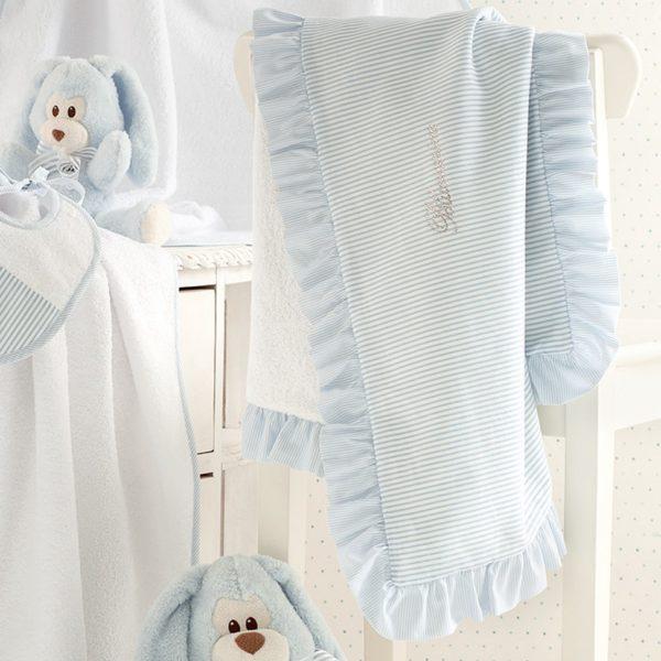 Детское полотенце Blumarine Baby Marina 78x100 Blue
